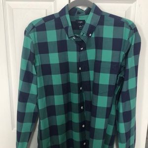 J crew oxford shirt, medium slim cut